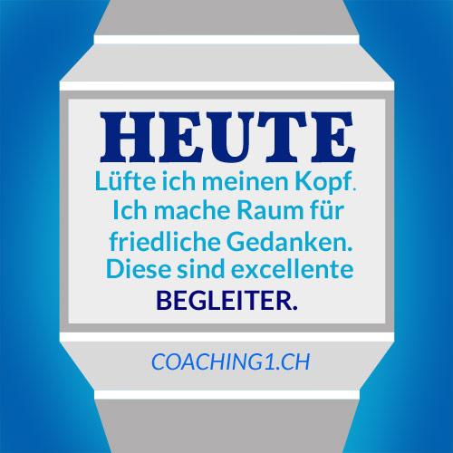 Gedanken Friedlich Coaching