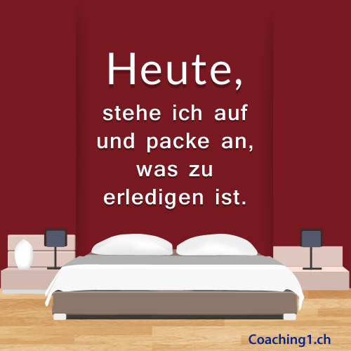 Erledigen Coaching