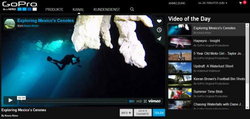 GoPro Content Marketing
